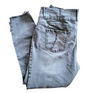 No Boundaries High Rise Distressed Skinny Jeans 17